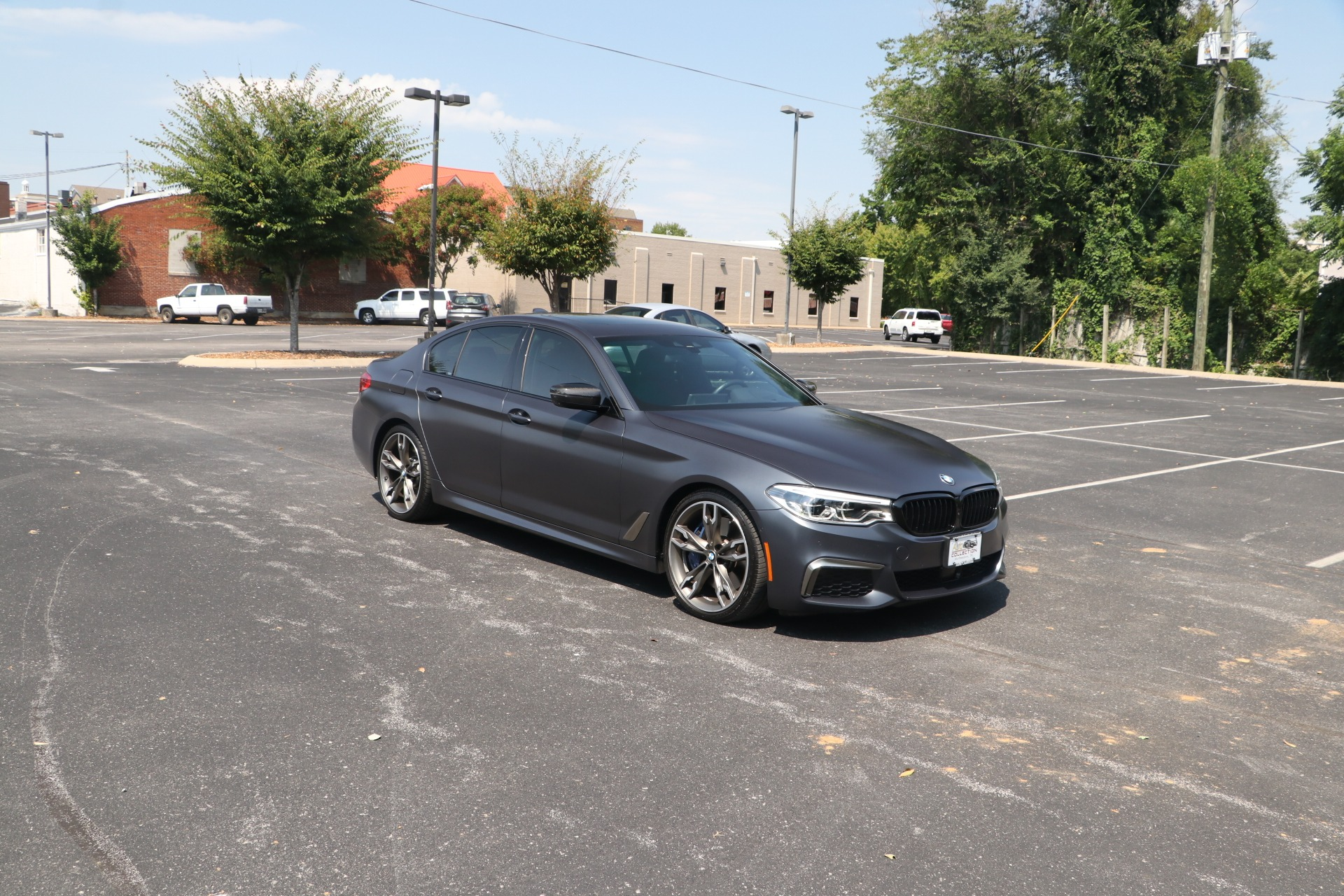Used 2020 BMW M550i xDrive AWD W/NAV for sale $69,950 at Auto Collection in Murfreesboro TN 37130 1