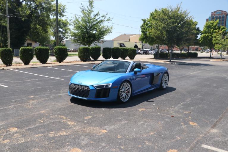 Used 2018 Audi R8 5.2 quattro V10 Spyder S tronic for sale $162,950 at Auto Collection in Murfreesboro TN 37130 2