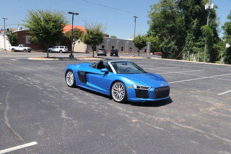 Used Used 2018 Audi R8 5.2 quattro V10 Spyder S tronic for sale $162,950 at Auto Collection in Murfreesboro TN