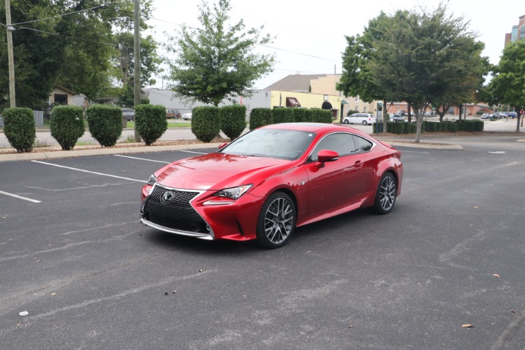 Used 2016 Lexus RC 350 COUPE F SPORT RWD W/NAV for sale $39,950 at Auto Collection in Murfreesboro TN 37130 2