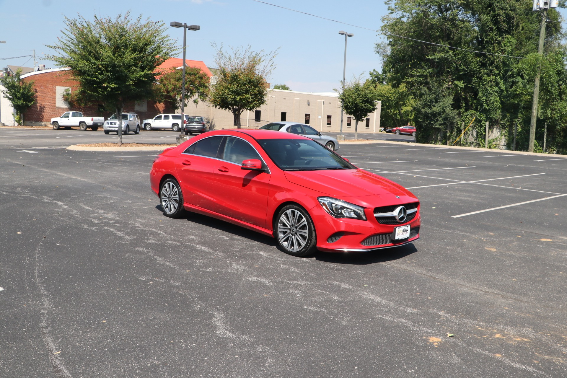 Used 2018 Mercedes-Benz CLA 250 COUPE BLIND SPOT ASSIST PKG W/NAV for sale $28,500 at Auto Collection in Murfreesboro TN 37130 1