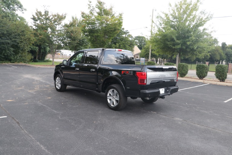 Used 2019 Ford F-150 PLATINUM TECHNOLOGY PACKAGE CREW CAB W/NAV for sale $62,950 at Auto Collection in Murfreesboro TN 37130 4