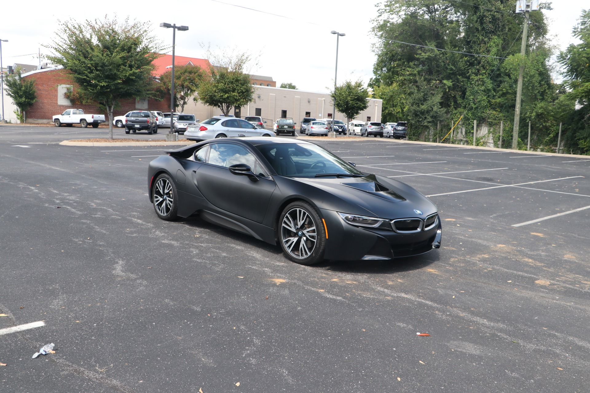Used 2017 BMW i8 FROZEN BLACK EDITION W/NAV for sale $79,950 at Auto Collection in Murfreesboro TN 37130 1