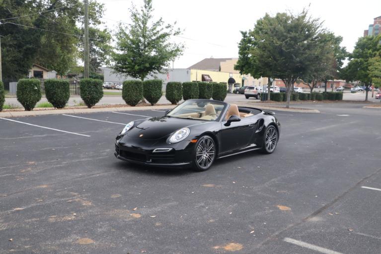 Used 2014 Porsche 911 TURBO CABRIOLET SPORT CHRONO W/NAV for sale $159,670 at Auto Collection in Murfreesboro TN 37130 2