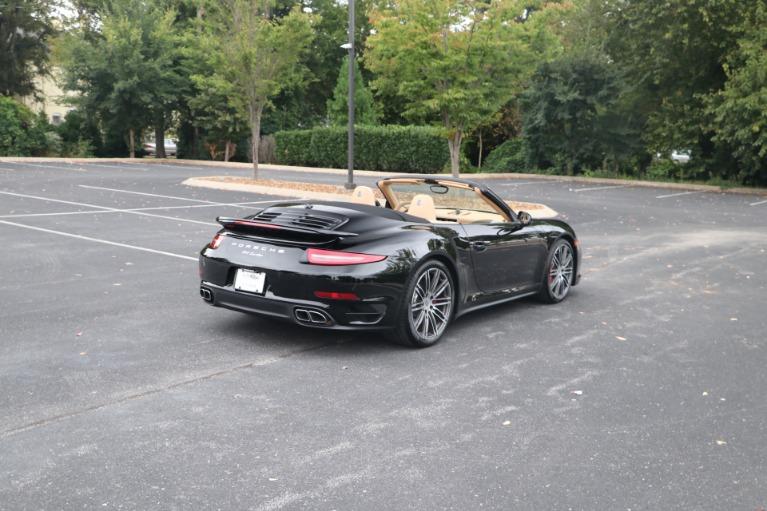 Used 2014 Porsche 911 TURBO CABRIOLET SPORT CHRONO W/NAV for sale $159,670 at Auto Collection in Murfreesboro TN 37130 3