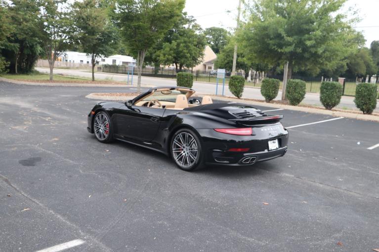 Used 2014 Porsche 911 TURBO CABRIOLET SPORT CHRONO W/NAV for sale $159,670 at Auto Collection in Murfreesboro TN 37130 4