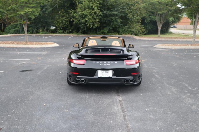 Used 2014 Porsche 911 TURBO CABRIOLET SPORT CHRONO W/NAV for sale $159,670 at Auto Collection in Murfreesboro TN 37130 5