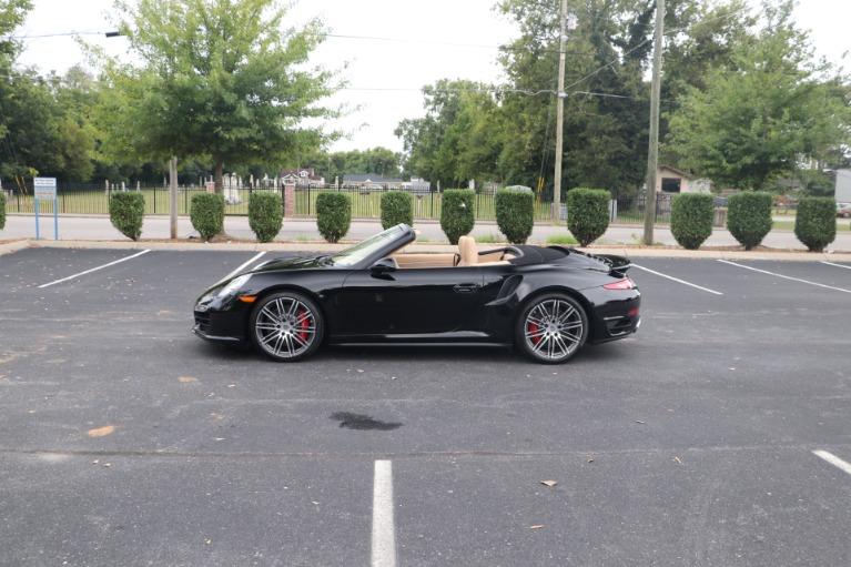 Used 2014 Porsche 911 TURBO CABRIOLET SPORT CHRONO W/NAV for sale $159,670 at Auto Collection in Murfreesboro TN 37130 6