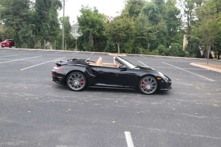Used 2014 Porsche 911 TURBO CABRIOLET SPORT CHRONO W/NAV for sale $159,670 at Auto Collection in Murfreesboro TN 37130 7