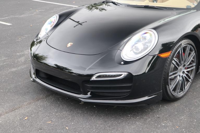 Used 2014 Porsche 911 TURBO CABRIOLET SPORT CHRONO W/NAV for sale $159,670 at Auto Collection in Murfreesboro TN 37130 8