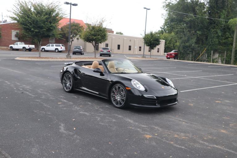 Used 2014 Porsche 911 TURBO CABRIOLET SPORT CHRONO W/NAV for sale $159,670 at Auto Collection in Murfreesboro TN 37130 1