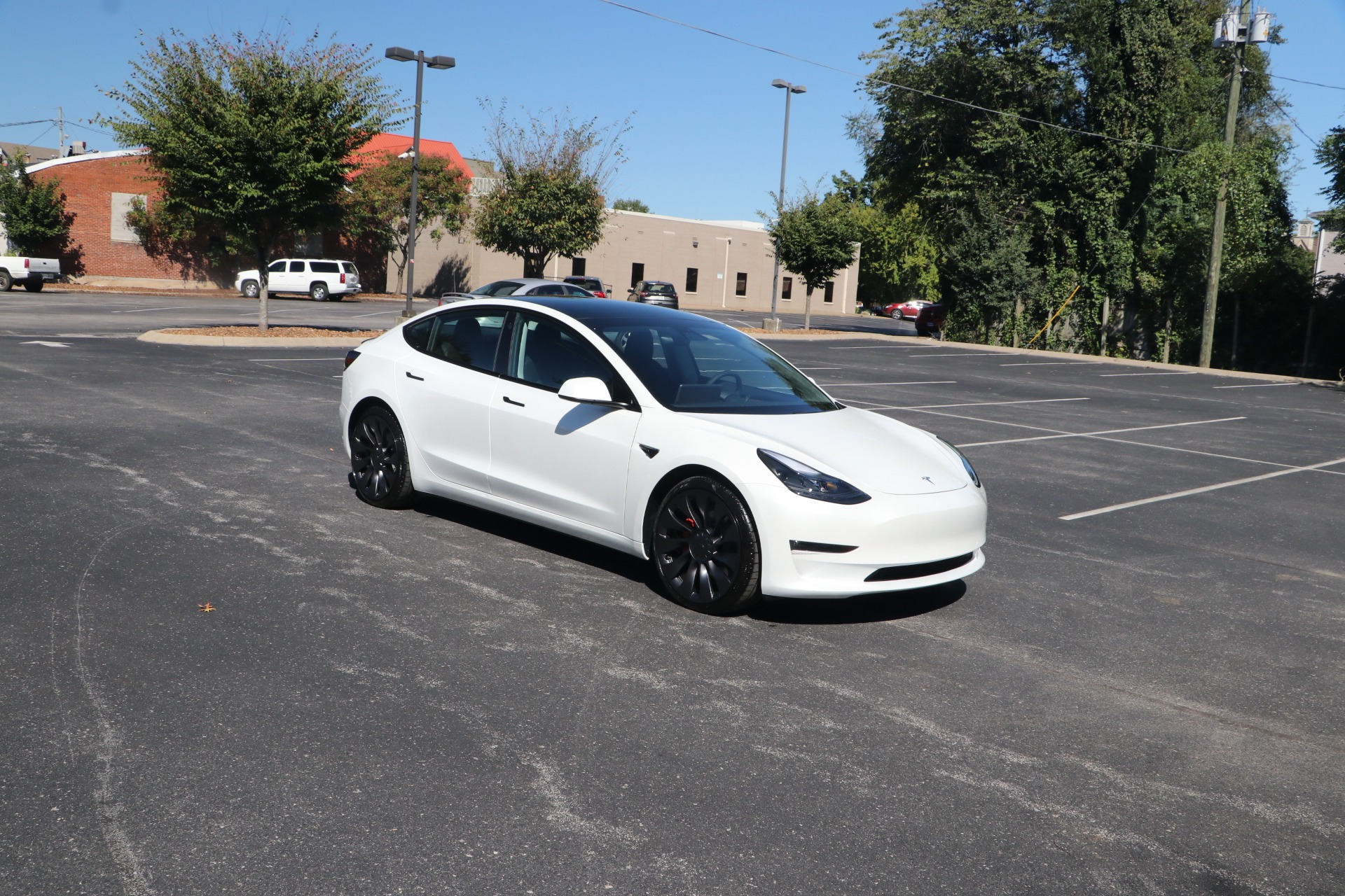 Used 2021 Tesla Model 3 Performance for sale $68,599 at Auto Collection in Murfreesboro TN 37130 1