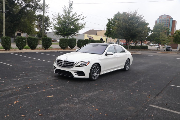 Used 2018 Mercedes-Benz S 560 PREMIUM 1 AMG LINE W/NAV for sale $70,860 at Auto Collection in Murfreesboro TN 37130 2