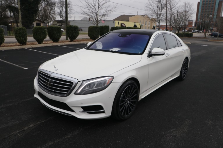 Used 2017 Mercedes-Benz S550 RWD PREMIUM W/SPORT PACKAGE for sale $51,576 at Auto Collection in Murfreesboro TN 37130 2