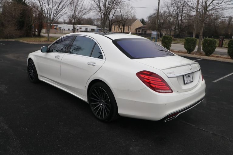 Used 2017 Mercedes-Benz S550 RWD PREMIUM W/SPORT PACKAGE for sale $51,576 at Auto Collection in Murfreesboro TN 37130 4