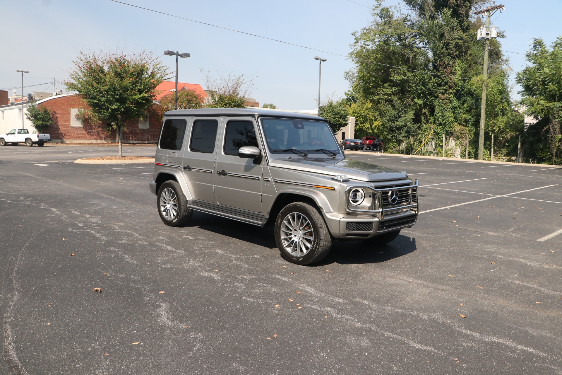 Used 2019 Mercedes-Benz G 550 4MATIC W/AMG LINE PACKAGE for sale $169,950 at Auto Collection in Murfreesboro TN 37130 1