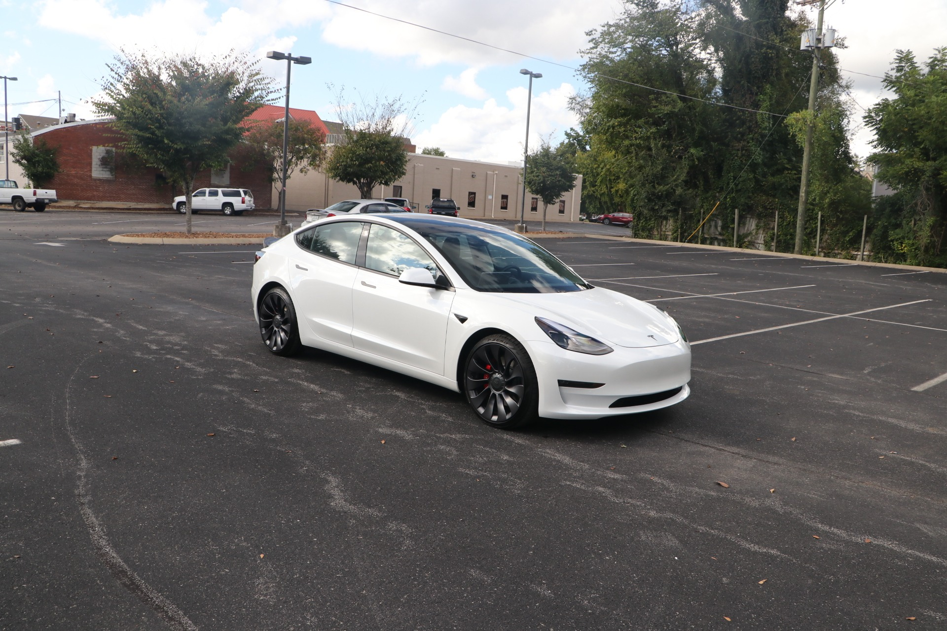 Used 2021 Tesla Model 3 PERFORMANCE AWD W/NAV for sale $66,000 at Auto Collection in Murfreesboro TN 37130 1